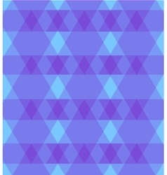 Abstract purple background with rhombus vector image vector image