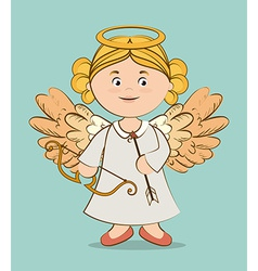 Angel design vector