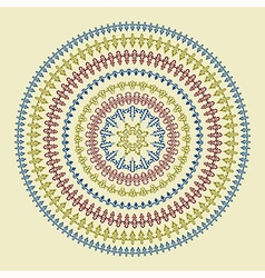 Circle Patterns vector image