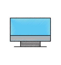 computer monitor device technology wireless vector image