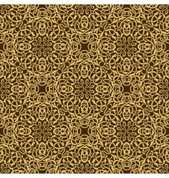 gold seamless wallpaper vector image