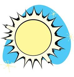 Retro Sun vector image vector image