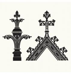 frame crowns vector image