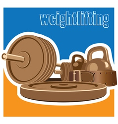 Weightlifting vector