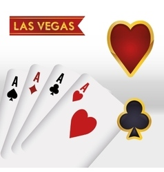 Las vegas design vector
