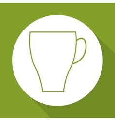 Coffee mug design vector