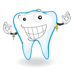 a tooth vector image