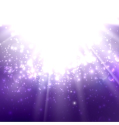 abstract of light rays on the deep vector image