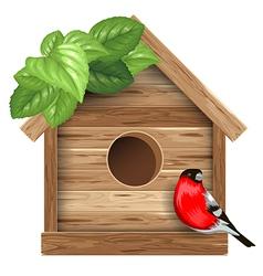 Birdhouse vector image