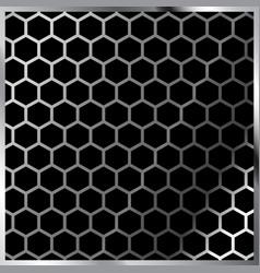 honeycomb pattern hexagonal vector image