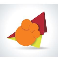 Hot deal color 3d realistic paper sale tags vector
