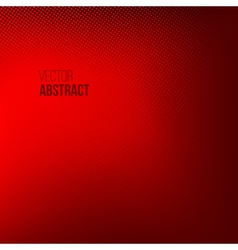 Red abstract halftone background vector