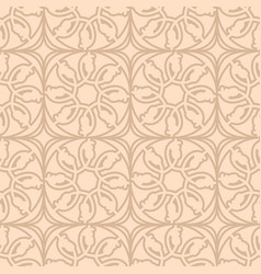 seamless pattern black background vector image vector image