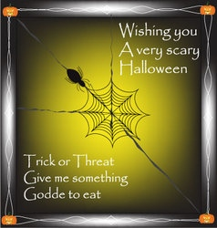 Halloween quotes background vector