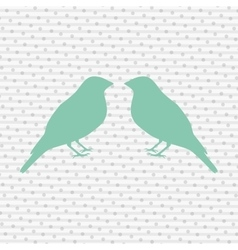 Birds decoration design vector
