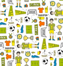 Soccer Texture vector image