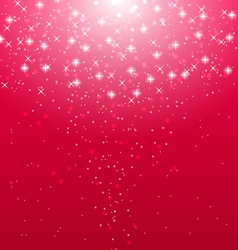 Abstract pink illuminated background with shiny vector