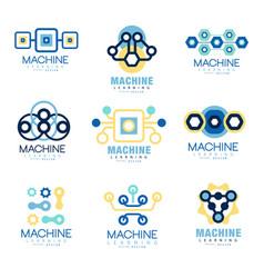 Learning machine label original design set of vector