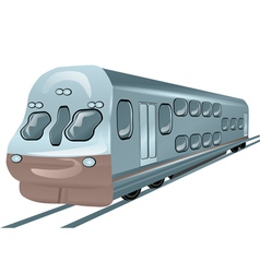 local train vector image vector image