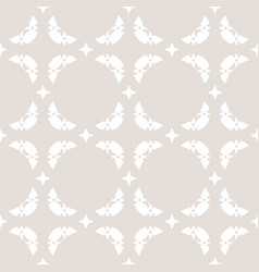 seamless abstract geometric pattern in pastel vector image vector image