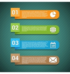 Options banner vector