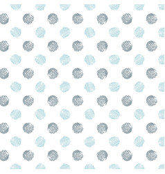 Decorative pattern with drawn circles background vector