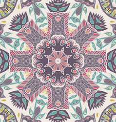 Traditional ornamental paisley bandanna hand drawn vector
