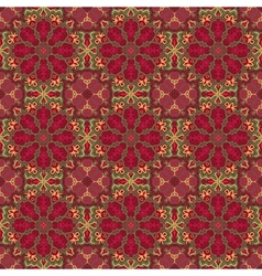 Seamless colorful pattern east ornament vector