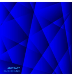 Abstract Blue Geometric Background vector image vector image