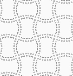 Dotted doubled rectangles vector