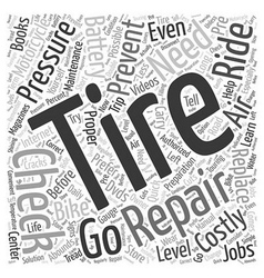 Preventing the need for costly repair word cloud vector