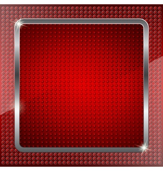 Red fluorescent background vector