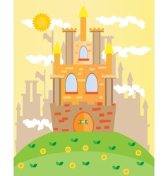 Picture of castle vector