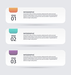 Infographic templates for business infographics vector