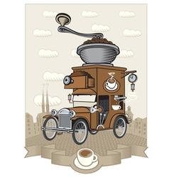 car maker vector image
