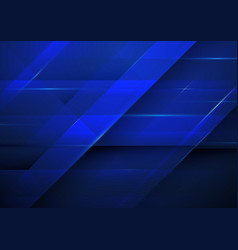 abstract dark blue rectangles background vector image