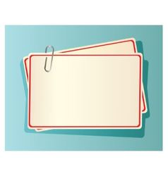 cards and clip vector image