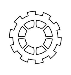 Gear work collaboration business mechanic vector