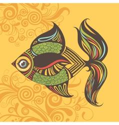Colored fish vector