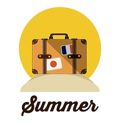 Summer design vector