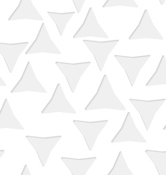 Seamless triangles paper pattern vector