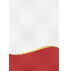 White red vector
