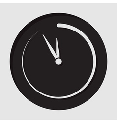 Information icon - last minute clock vector