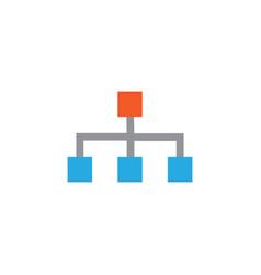 structure flat icon symbol premium quality vector image