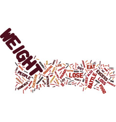 The easy diet to help you to lose those excess vector