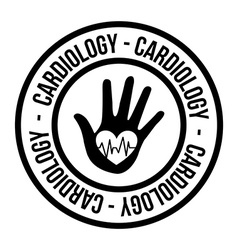 Cardiology vector