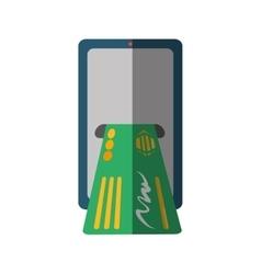 Bank online ecommerce icon vector