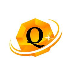 Diamond swoosh initial q vector