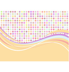 flat abstract background vector image vector image