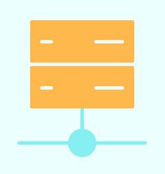 server icon simple minimal 96x96 pictogram vector image